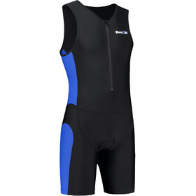 Dare2Tri Frontzip Trisuit Heren, black-blue